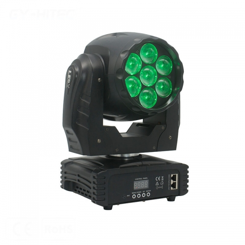 GY-HM WZ715<br/> 7x12W LED WASH ZOOM
